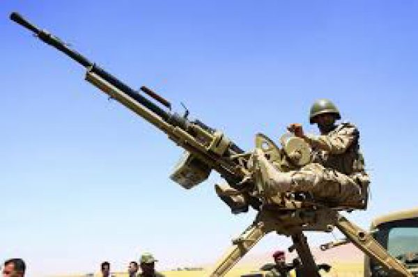 Soldier blasts MOPOL officers with anti-aircraft gun because of girlfriend; here's the devastation
