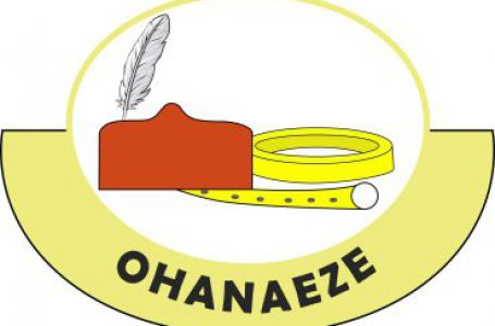 LAGOS STATE OHANEZE SHOULD NEVER TOLERATE GOD-FATHERISM.