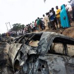 NIGERIA FUEL TANKER CASH KILL 23 PEOPLE