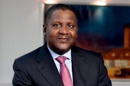 THE ICONIC PATRIOT CALLED DANGOTE