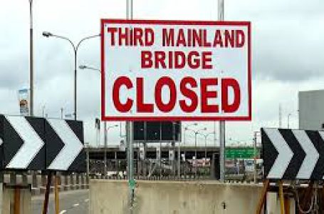 THIRD MAINLAND BRIDGE: LASG TO SHUT BRIDGE FOR 24HOURS FOR REMOVAL OF EQUIPMENT USED DURING THE REHABILITATION WORKS