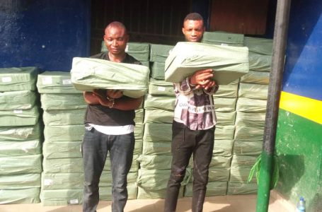 POLICE ARREST 2 FOR BREAKING INTO WAREHOUSE, STEALING GOODS WORTH 3M