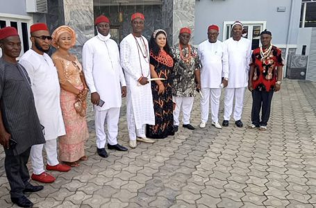 INAUGURATION CEREMONY OF EXECUTIVES OF OHANEZE NDIGBO GENERAL ASSEMBLE WORLD WIDE LAGOS STATE.