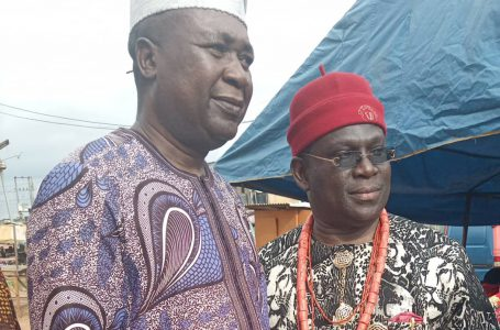 PRINCE SUNDAY LADIPO CHIEF OF STAFF, HON SPEAKER LAGOS STATE HOUSE OF ASSEMBLY HONORS THE IGBO`S JOINT IWAJI/CULTURAL FESTIVAL